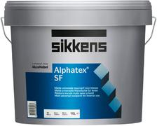 Sikkens Wood Coatings Alphatex SF матовая эмульсионная краска для минеральных поверхностей