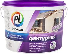 Профилюкс Фасадная фактурная краска для наружных и внутренних работ