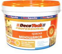 Decotech Professional краска моющаяся латексная