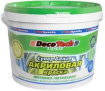 Decotech Eco краска акриловая латексная