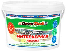 Decotech Eco краска интерьерная латексная