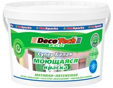 Decotech Eco краска моющаяся латексная