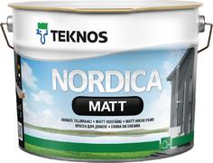 Текнос Nordica Matt краска для домов