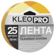 Клейкая лента для фиксации напольных покрытий двусторонняя Kleo Pro