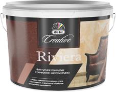 Dufa Creative Riviera фактурное покрытие с эффектом фрески