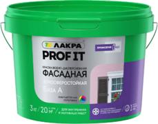 Лакра Prof It краска водно-дисперсионная фасадная атмосферостойкая