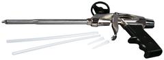 Пистолет для монтажной пены стальной корпус Кедр Профи