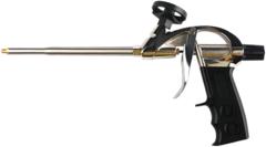 Пистолет для монтажной пены цельнометаллический корпус Кедр