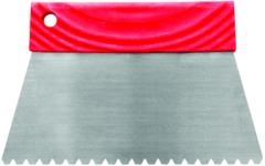Зубчатый шпатель для нанесения клея для паркета Homa B3