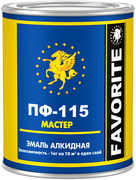 Фаворит ПФ-115 Мастер эмаль алкидная