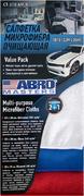 Салфетка очищающая Abro Masters Value Pack