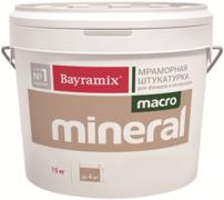 Bayramix Macro Mineral мраморная штукатурка