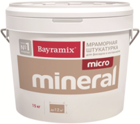 Bayramix Micro Mineral мраморная штукатурка