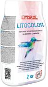 Литокол Litocolor цветная затирочная смесь на основе цемента