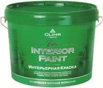 Олимп Beta Interior Paint интерьерная краска латексная для стен и потолков