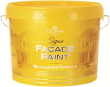 Олимп Sigma Facade Paint фасадная акриловая краска