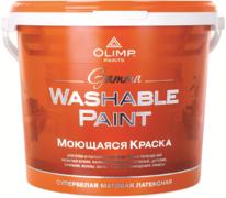 Олимп Gamma Washable Paint моющаяся краска акриловая для стен и потолков