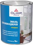 Олимп атмосферостойкая алкидная эмаль для окон и дверей