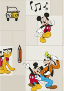Евродекор Disney E-D-001А обои виниловые на флизелиновой основе