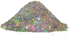 Bioplast Блеск голографические декоративные блестки-глиттер