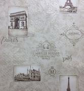 Маякпринт Париж 582-338-01 обои виниловые на бумажной основе