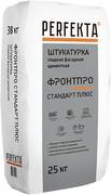 Perfekta Фронтпро Стандарт-Plus штукатурка гладкая фасадная цементная