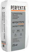 Perfekta Фронтпро Эксперт-Plus штукатурка цементная тонкослойная усиленная