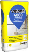 Вебер Ветонит 4080 универсальный наливной пол