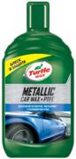 Turtle Wax Metallic Car Wax + PTFE восковой полироль металлик с полимером ПТФЭ