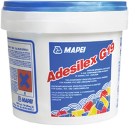 Mapei Adesilex G19 двухкомпонентный эпоксидно-полиуретановый клей