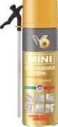 V6 Mini монтажная пена бытовая всесезонная