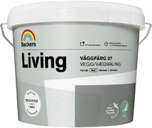 Beckers Living Vaggfarg 07 матовая краска для стен и потолков