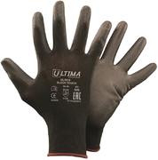 Перчатки трикотажные нейлоновые с полиуретановым покрытием Ultima 615 Black Touch