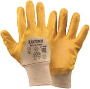 Перчатки с облегченным нитриловым покрытием Ultima 400L