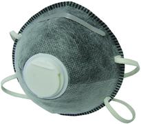 Полумаска фильтрующая с угольным фильтром Бибер