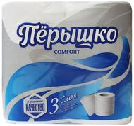 Бумага туалетная Перышко Comfort