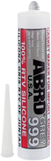 Abro 999 100% RTV Silicone Sealant герметик силиконовый серый картридж