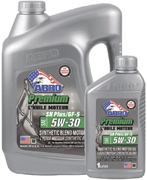 Abro Premium Synthetic Blend SAE 5W30 масло моторное полусинтетическое