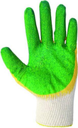 Перчатки х/б двойной облив T4P