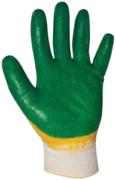 Перчатки х/б глубокий двойной облив T4P