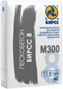 Бирсс М-300 8 цементно-песчаная сухая смесь пескобетон