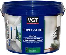 ВГТ ВД-АК-1180 Superwhite краска акриловая матовая для наружных и внутренних работ