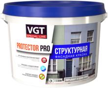 ВГТ Protector Pro структурная фасадная краска
