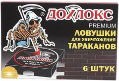 Дохлокс Premium ловушки для уничтожения тараканов