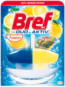 Бреф Duo-Aktiv Лимон подвесной туалетный блок