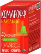 Комарофф Народный 45 Ночей флакон с жидкостью от комаров без запаха
