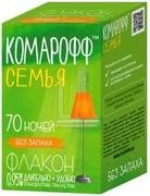 Комарофф Семья 70 Ночей флакон с жидкостью от комаров без запаха