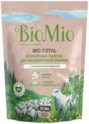 Biomio Bio-Total с Эфирным Маслом Эвкалипта экологичные таблетки для посудомоечной машины 7 в 1