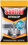 Санитол Антизасор жидкое средство для чистки канализационных труб