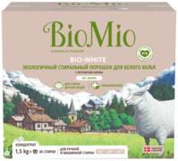 Biomio Bio-White экологичный стиральный порошок концентрат для белого белья
